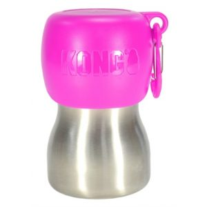 KONG H2O DRINKFLES RVS ROZE 280 ML
